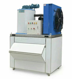 চীন 7.3KW Commercial Flake Ice Machine For Cooling Seafood Vegetables সরবরাহকারী